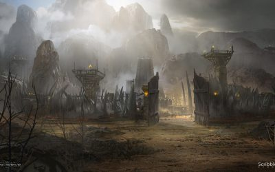 El Concept art de James Paick